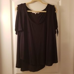 Rachel Roy Cold Shoulder T-Shirt